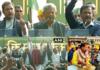 राहुल गाँधी सहित सभी बड़े नेता किसान मुक्ति यात्रा में पहुंचे
