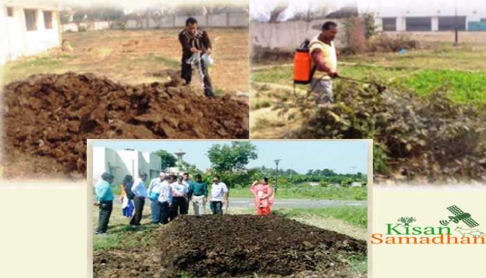 खेती के कचरे से खाद कैसे बनायें