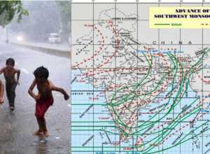 latest monsoon progress in india