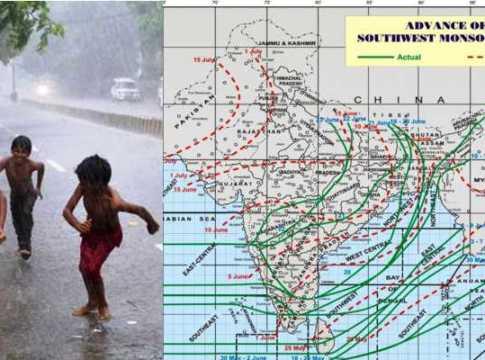 latest monsoon progress in india