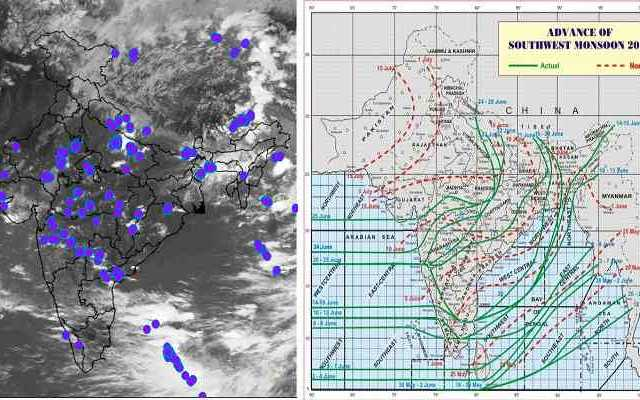 live monsoon status 25 jun