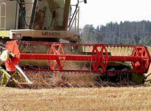 combine harvester subsidy lakshya mp