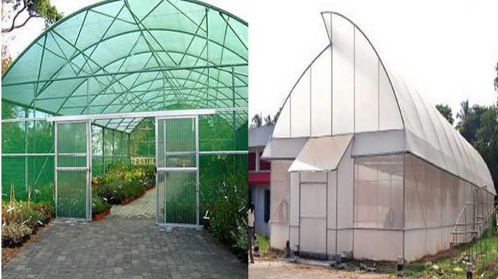 polyhouse and shed net house anudan hetu avedan