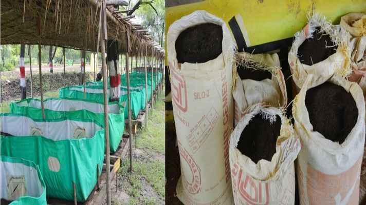 vermy compost bed anudan hetu aavedan