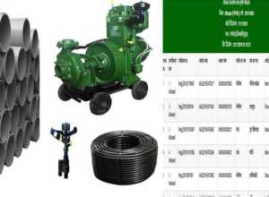 diesel pump electric pump pipe line sprinkler drip system aavedan selected kisan