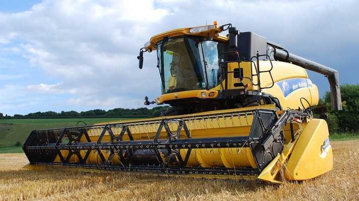 combine harvester anudan mp