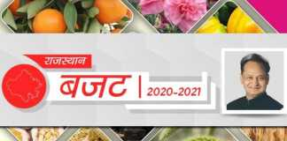rajasthan agriculture budget 2020-21