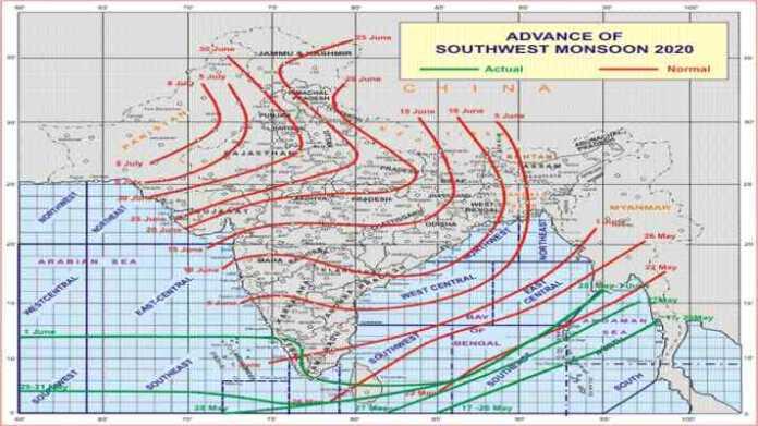 monsoon forcast 2020 imd