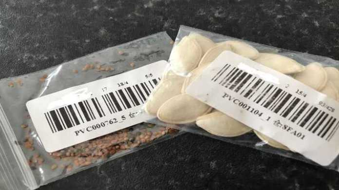 unknown seeds parcels alert