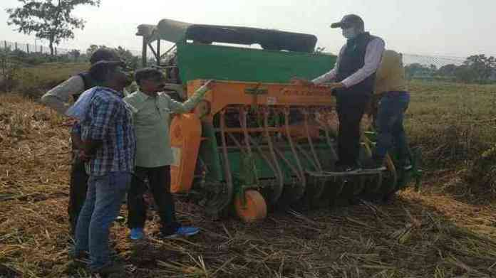 happy seeder agriculture machine