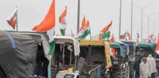 kisan tractor parade
