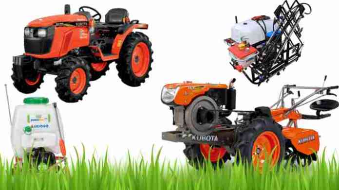 Tractor and other agriculture machinery subsidy