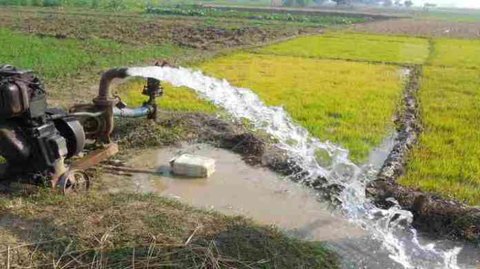 agriculture water pump connection cg