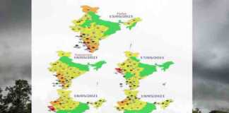 weather forecast 16 to 19 may
