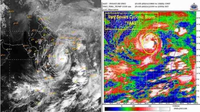 yaas cyclone rainfall forecast
