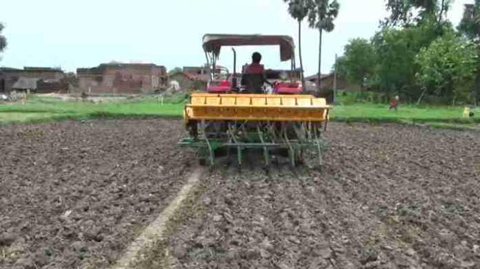 dhan sowing dsr machine