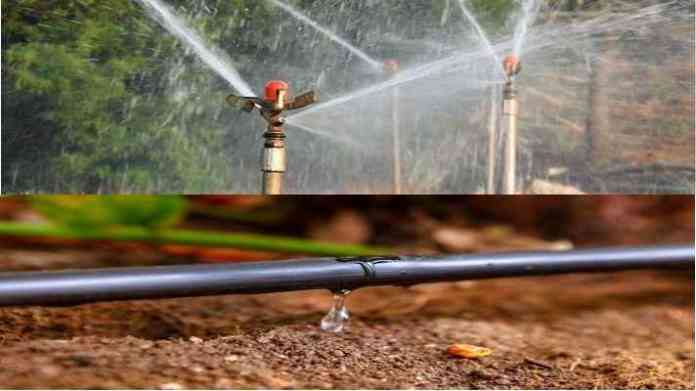drip and portable sprinkler subsidy
