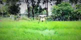 Agriculture drone technology