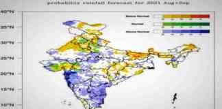monsoon rain forecast 2021