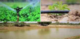 subsidy on irrigation