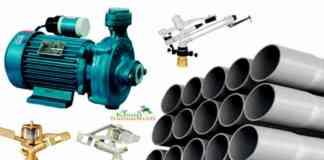 pump pipeline sprinkler anudan