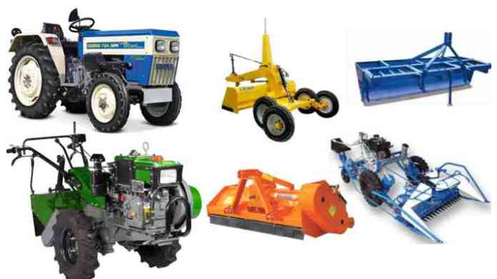 subsidy on agriculture machinery