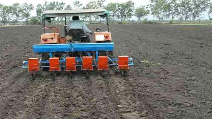 crop sowing