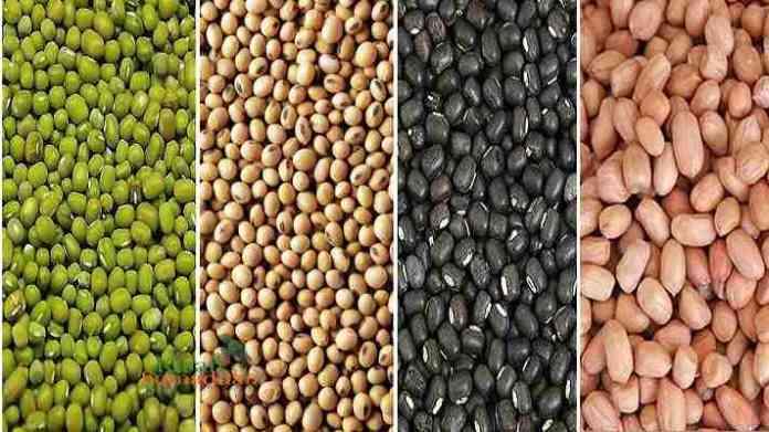 mung urad mungfali soybean msp kharid